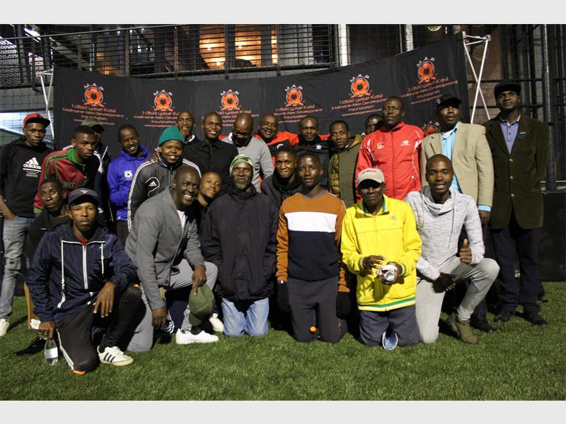 Maimane Phiri urges the community to come in numbers to support young talent